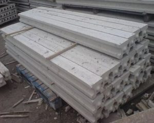 concrete vs timber for fence posts