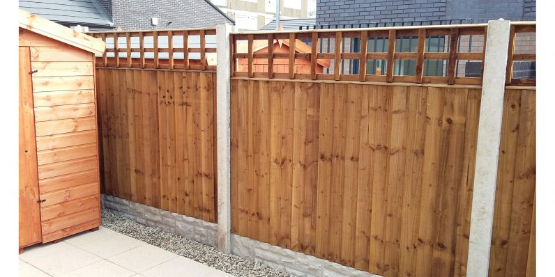 Some of our different types of fencing