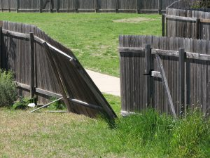 In need of fence post repair?