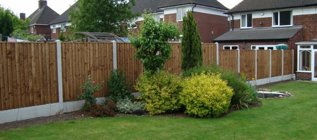 Leave it to us for your garden fence panels