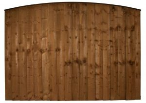 Heavy Duty Arched Feather Edge Panel