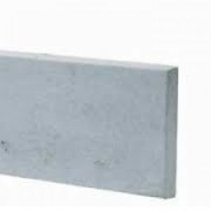 plain fence base panel