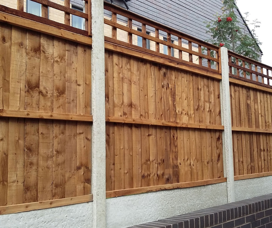 Extra strong fence panels City Fencing